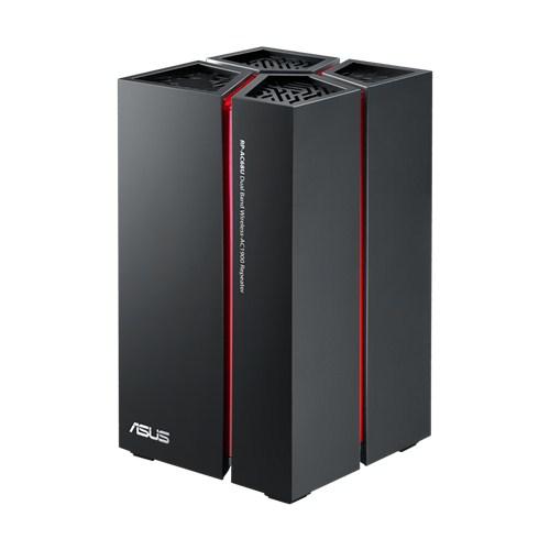 ASUS RP-AC68U, bezdrátový opakovač třídy AC1900 s konektorem USB 3.0 a 5 porty gigabitového Ethernetu
