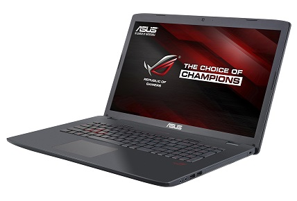 "ASUS GL752VW-T4222T i5-6300HQ/8GB/1TB SATA/DVD-RW/GTX960M 2GB/17,3"" FHD/Win10/černý"