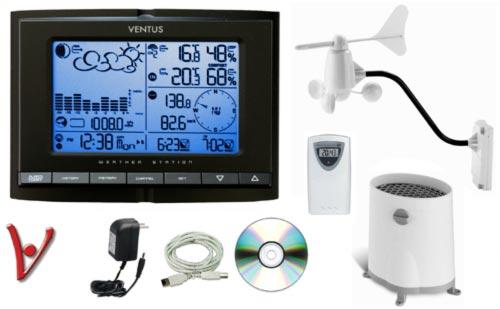 Meteorologická stanice VENTUS 831