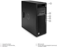 HP Z440 Xeon E5-1620v3 4c, 256GB G2 Pcie, 2x8GB DDR4 ECC,DVDRW,no VGA,no keyb, mouse, MCR, Win10Pro DWN7