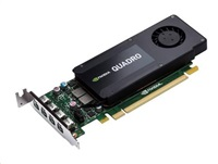 HP NVIDIA Quadro K1200 4GB 4x mDP Full/Low profile