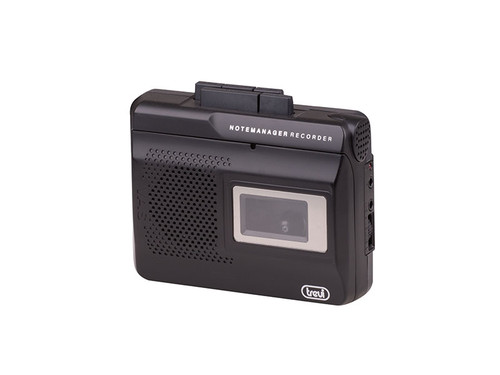 CR 410 Přenosný kazetový rekorder černý