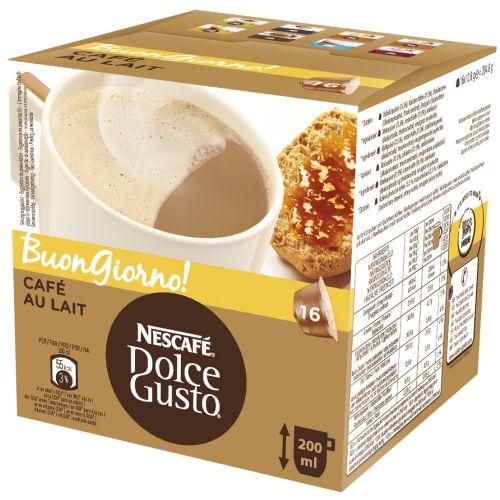 Kapsle NESCAFÉ® Dolce Gusto Cafe AuLait
