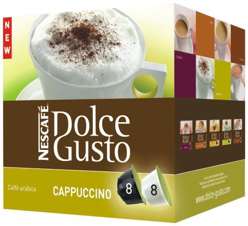 Kapsle Nescafé Dolce Gusto Cappuccino