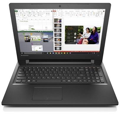 "Lenovo IdeaPad 300-15ISK Core i5-6200U 2,80GHz/8GB/1TB/15,6"" HD/Radeon 2GB/DVD-RW/WIN10 černá 80Q700RFCK"
