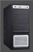 PC skříň Eurocase ATX ML 5435 Middle Tower, zdroj 450W (černo-stříbrná)