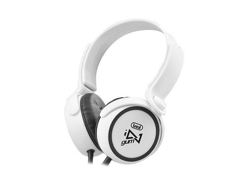 DJ 673/WH Dig. st. sluchátka s mikrf.