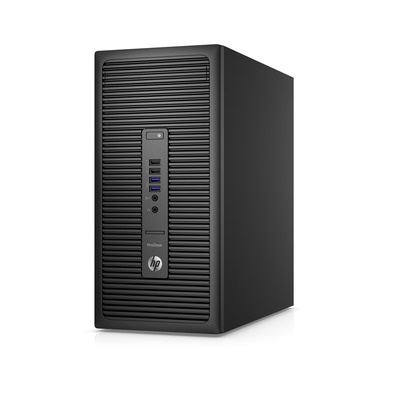HP ProDesk 600 G2 MT / Intel i3-6100 / 4GB / 500GB / Intel HD / DVD / W10P+W7P / 3-3-3