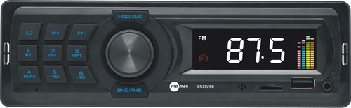 CR 33USB Autorádío,FM PLL,18př.,USB,SD