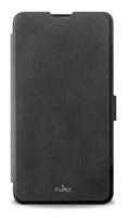 Puro flipové pouzdro pro Microsoft Lumia 650 s přihrádkou na kartu, černá