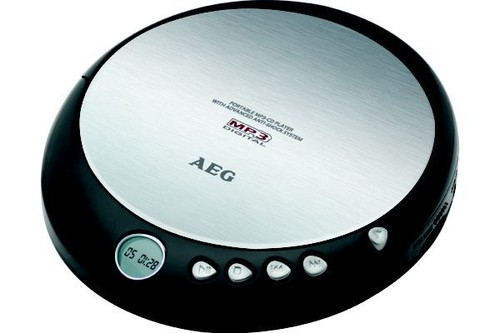 CDP 4226/BK Přenosný CD přehrávač,MP