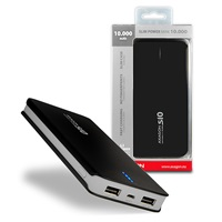 AXAGON SLIM power bank Li-Pol 10000mAh 2A BLACK