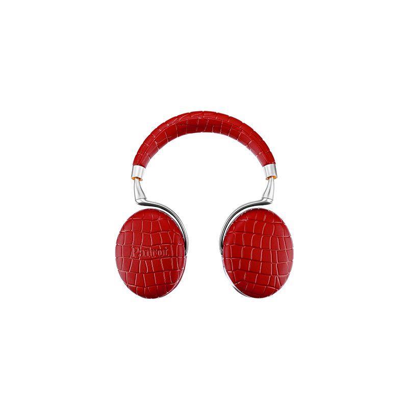 Parrot Zik 3 bezdrátová sluchátka (design by Starck), Red Croc