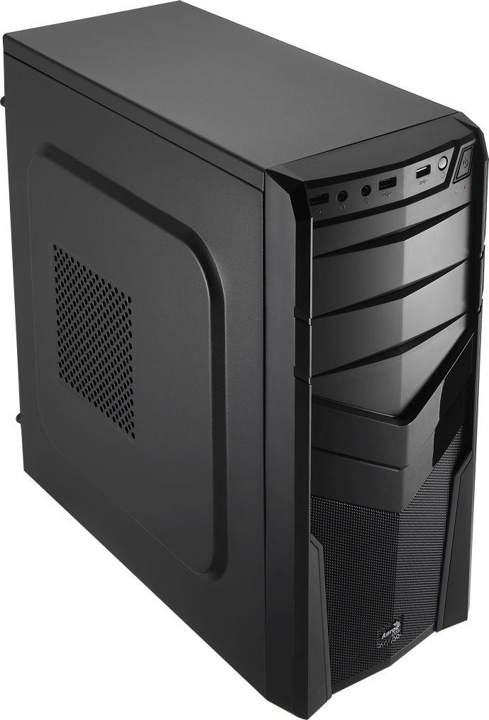 PC skříň Aerocool ATX PGS V2X BLACK, USB 3.0, bez zdroje