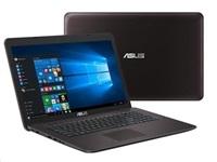 """ASUS NB F756UJ - i3-6100U@2.3GHz, 17.3"""" matný LED FHD, nV GT920M 2G, 8GB, 1TB54+16GB SSD, DVD, WiFi, BT, W10,tmavě-hnědá"""