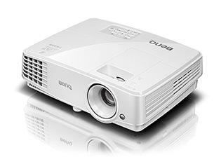 BenQ DLP Projektor MW529 3D/1280x800 WXGA/3300 ANSI lm/13000:1/HDMI/1x2W Repro