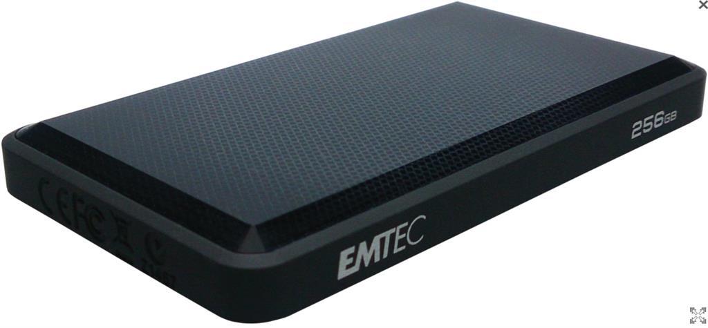 Emtec External SSD X510 256GB (320MB/s, 100MB/s), USB 3.0