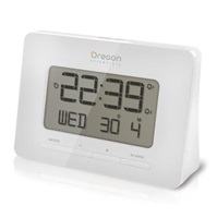 Oregon RM938-WH - digitální budík bílý