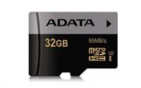 ADATA Micro SDHC karta Premier Pro 32GB UHS-I U3, (R:95MB)