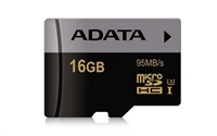 ADATA Premier Pro micro SDHC karta 16GB UHS-I U3 Class 10 (95/45M/s)