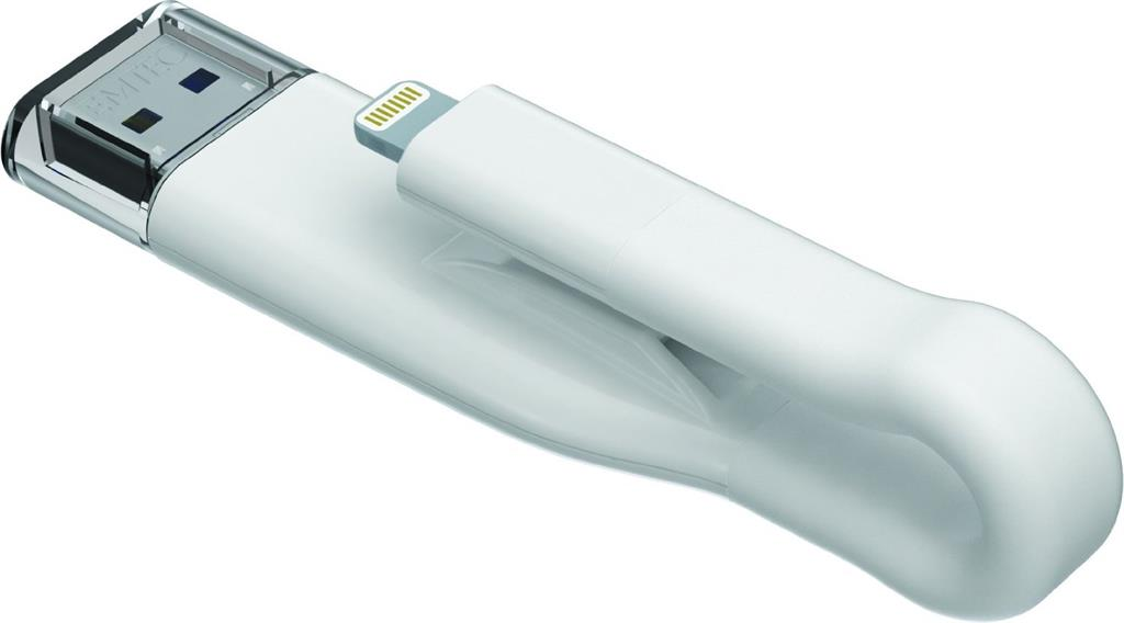 Emtec memory 32GB USB 3.0 & Lightning icobra T500 (100MB/s, 20MB/s)