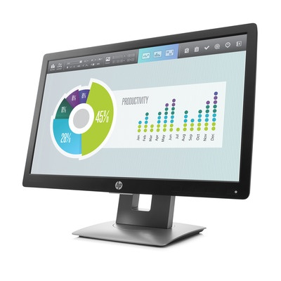 HP EliteDisplay E202 / 20'' IPS/ 1600x900 / 1000:1 / 7ms / 250 cd / VGA, DVI-D, DP, USB / 3/3/0