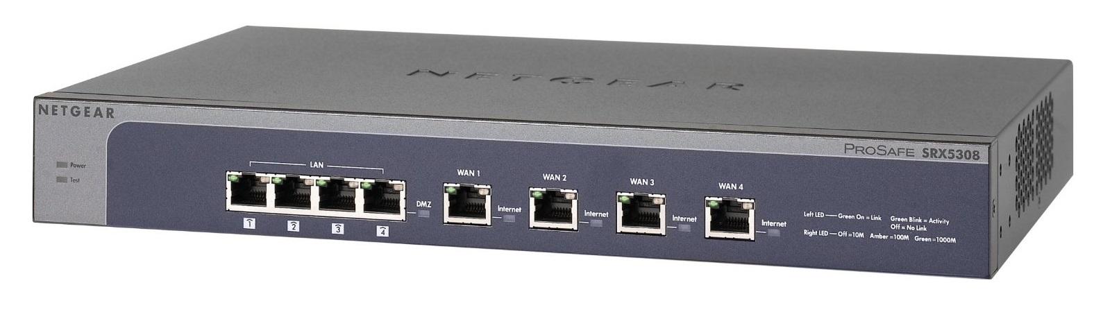 Netgear ProSafe VPN SSL Firewall Quad WAN