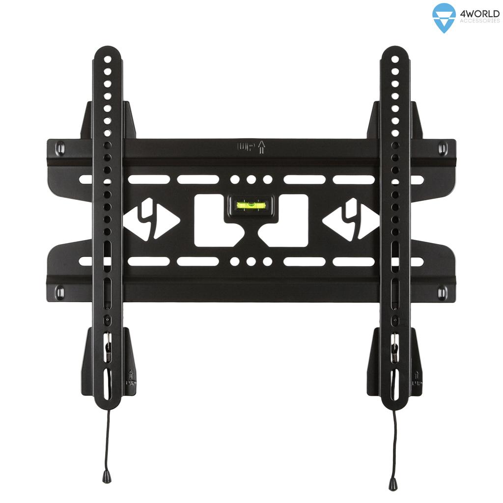 """4W Fixní držák pro LCD 25-42"""" SLIM nosn. 45kg BLK"""