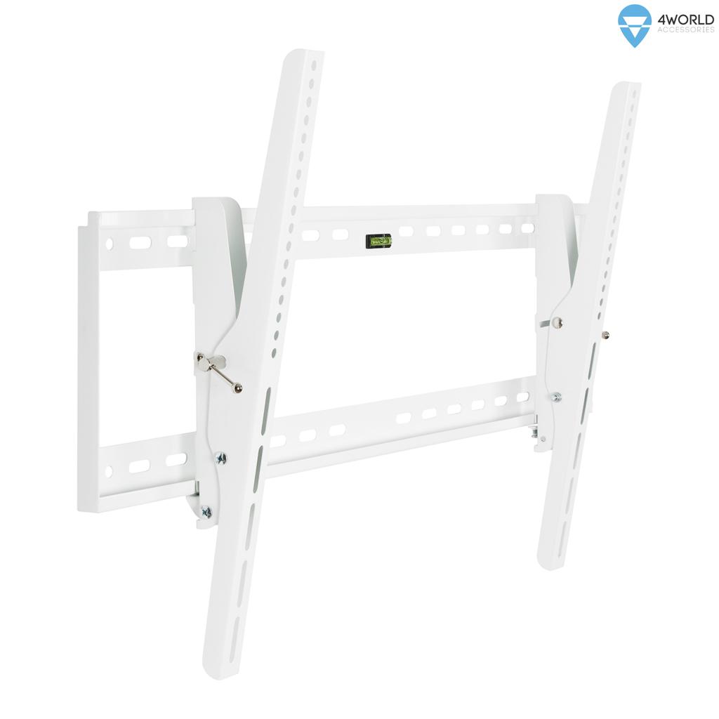 """4W Sklopný držák pro LCD 30-54"""" nákl. 15° 60kg WHT"""