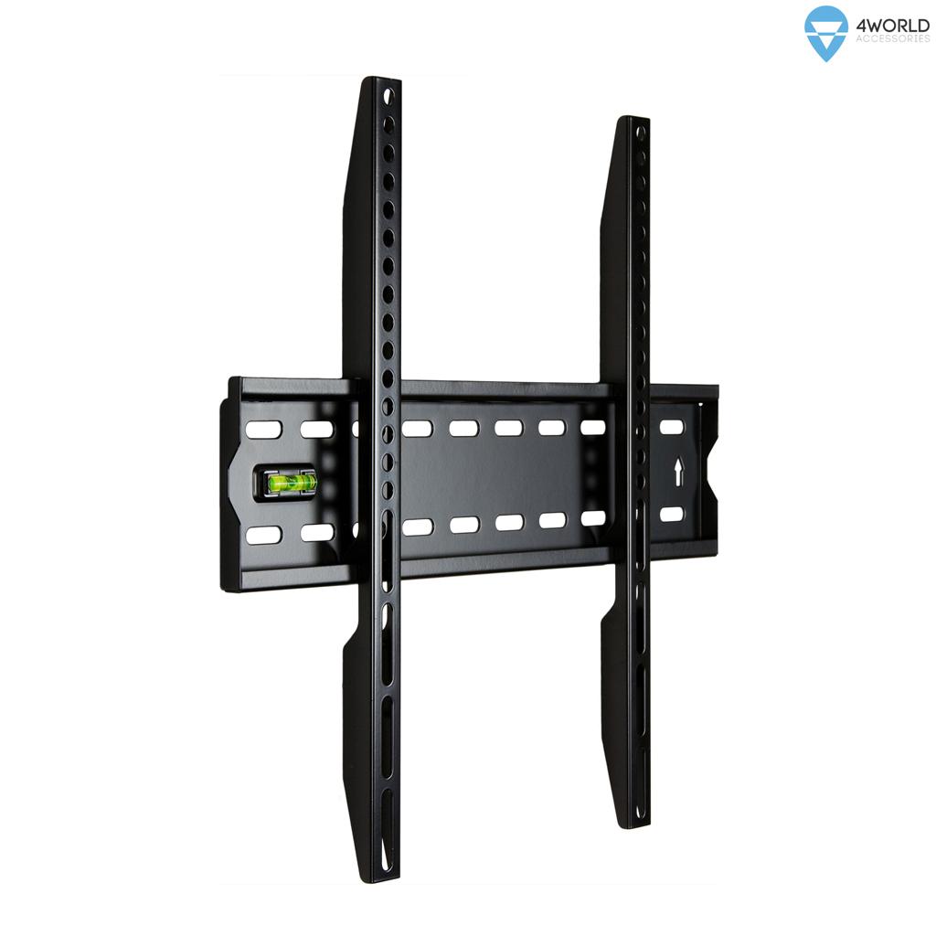"""4W Fixní držák pro LCD 20-75"""" SLIM nosn. 50kg BLK"""
