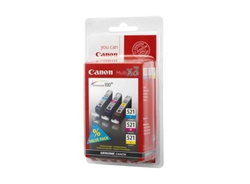 Canon cartridge CLI-521 C/M/Y/BK PHOTO VALUE BL