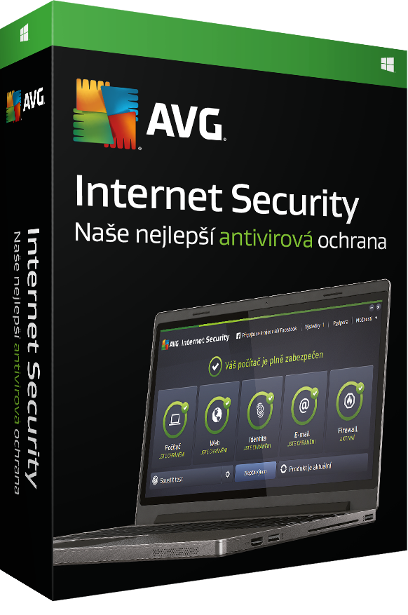 AVG Internet Security 2016, 1 lic. (12 měs.) - krabicová licence