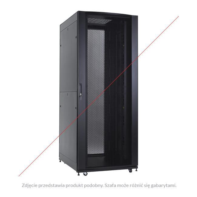 Linkbasic stojící skříně 19'' 42U 600x1000mm (perforované dveře) až do 1000kg