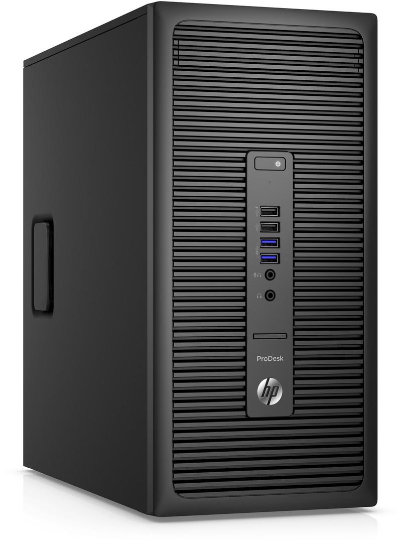 HP ProDesk 600 G2 MT / Intel i5-6500 / 8GB / 256GB SSD / Intel HD / DVD / W10P+W7P / 3-3-3