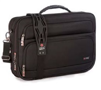 "i-stay 15.6""& up to 12"" Clamshell laptop/tablet bag Black"