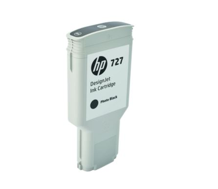 HP 727 300-ml Black DesignJet Ink Cartridge