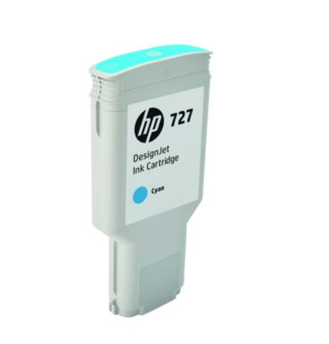 HP 727 300-ml Cyan DesignJet Ink Cartridge