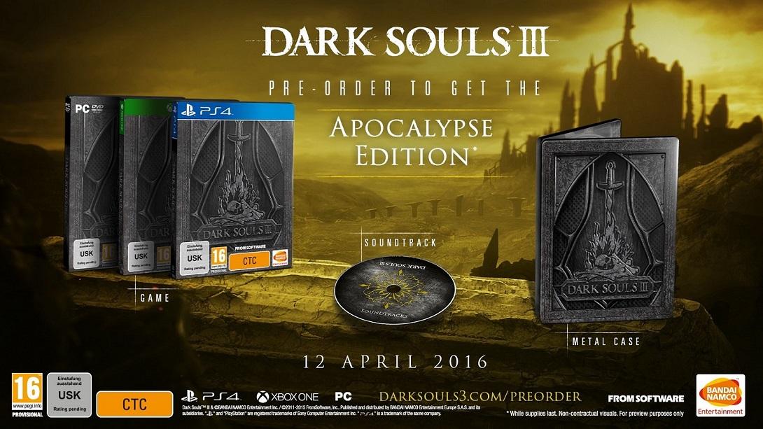 Namco Bandai XBox One hra Dark Souls 3 Apocalypse Edition