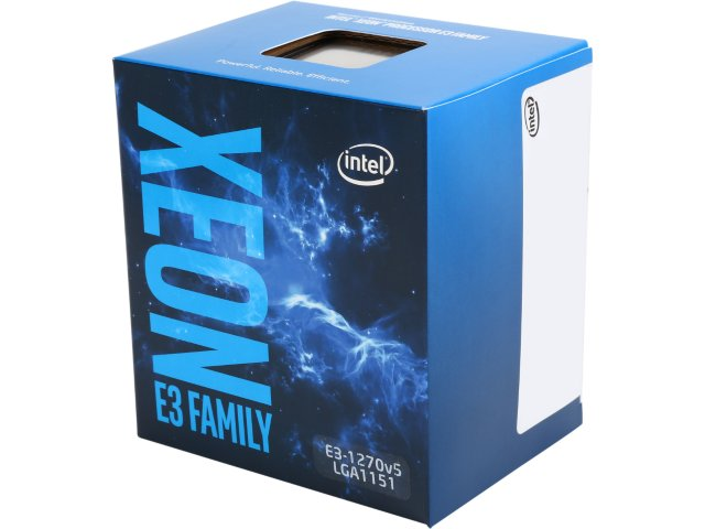 CPU INTEL XEON E3-1270v5, LGA1151, 3.60 GHz, 8MB L3, 4/8, no VGA, 80W, BOX