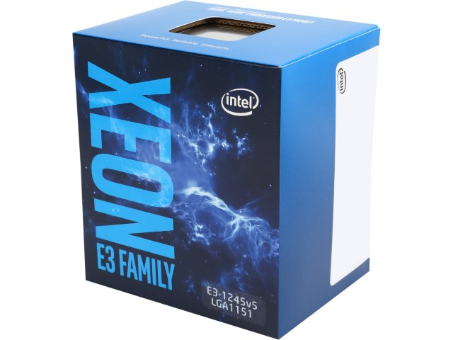 INTEL Quad-Core Xeon E3-1245V5 3.5GHZ/8MB/LGA1151/Skylake