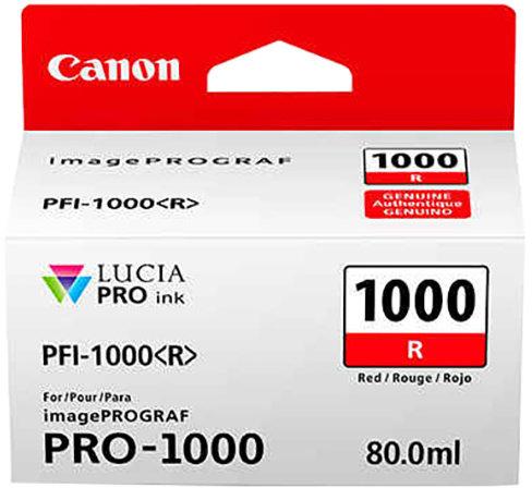 Canon cartridge PFI-1000 R Red Ink Tank
