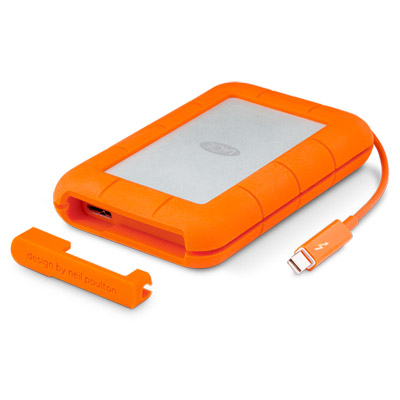 Ext. SSD LaCie Rugged Thunderbolt 1TB USB 3.0
