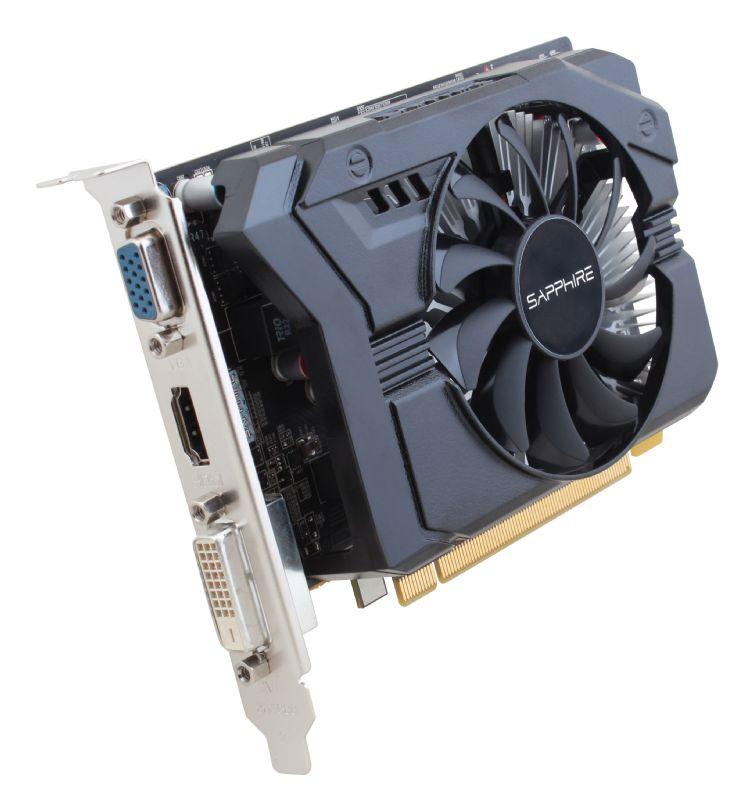 Sapphire Radeon R7 250, 2GB DDR3 (128 Bit), HDMI, DVI, VGA, 512SP Edition, LITE