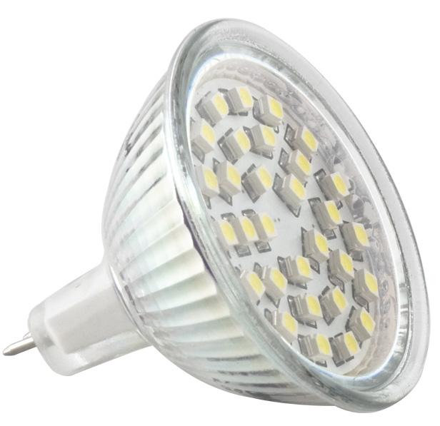 LED žárovka TB Energy MR16, 12V, 4,0W,Studená bílá