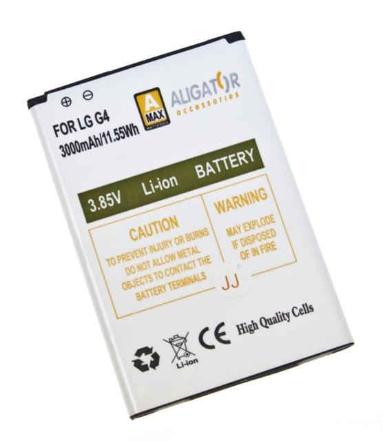Aligator baterie pro LG G4 Li-ION 3000 mAh
