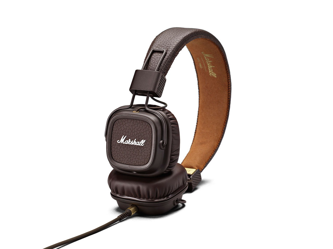Marshall Major II Brown, uzavřená sluchátka s mikrofonem