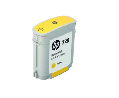 HP no 728 40-ml žlutá ink. kazeta