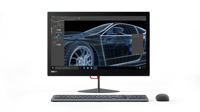 "LENOVO PC ThinkCentre X1 AiO 23.8"" 1920x1080mat,i5-6300U@2.4GHz,8GB,8+1TB54,HD520,5xUSB,W7P+W10P - 3r on-site"