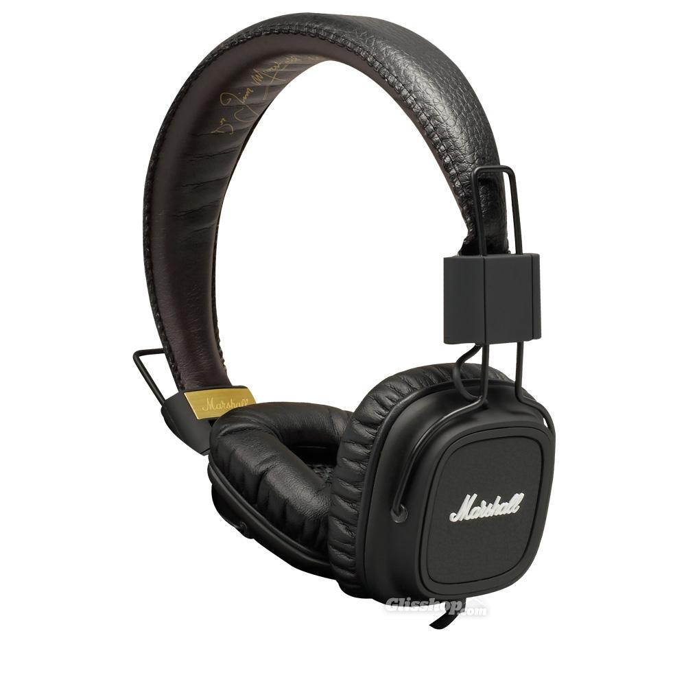 Marshall Major II Black, uzavřená sluchátka s mikrofonem