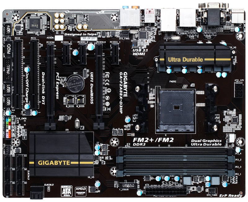 GIGABYTE F2A88X-D3HP (rev. 1.0)